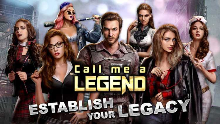 Call me a Legend - Game of Battle & Love Screenshot 1 - marmotgraphics.com