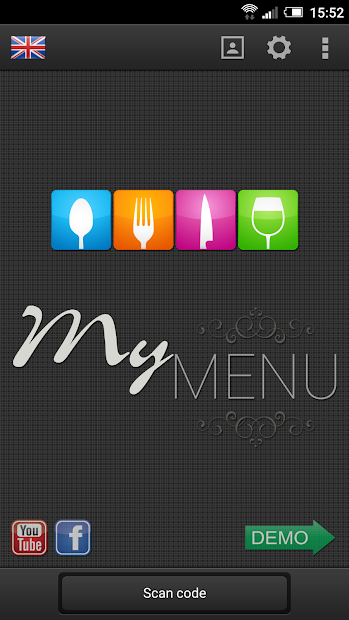 MyMenu Screenshot 1 - marmotgraphics.com